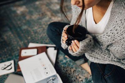 diary, journal, notebook, paper, cozy, coffee, mug, woman, girl, female
