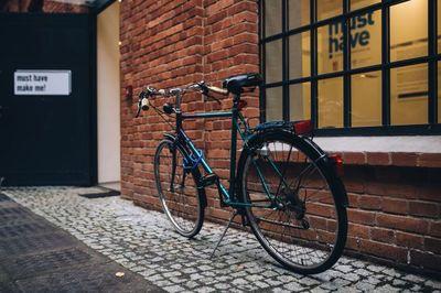 bike, bicycle, cycle, asphalt, street, lock, safety, security, urban