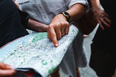 map, geography, hand, finger, destination, travel, pointing, direction, tourists, tour