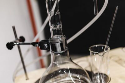 glass, distillation, equipment, experiment, laboratory, chemistry, chemical, apparatus, science