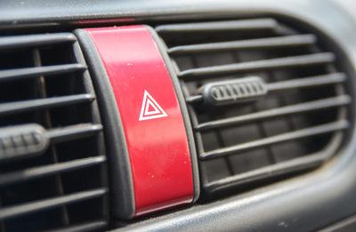 car, emergency, hazard, light, button, automobile, vehicle, warning, automotive, safety