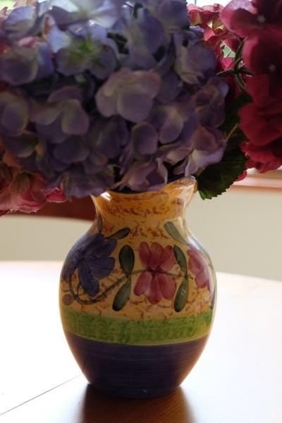 vase, purple, flowers, decor, petals, flora, pink