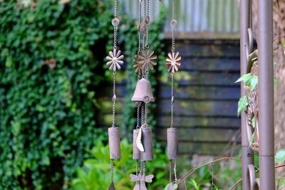 outdoor, garden, decor, bell, hanging, wind, chime, instrument