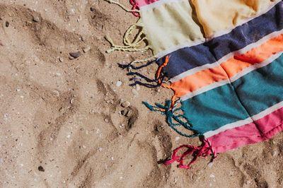 beach, sand, summer, vacation, holidays, towel, blanket