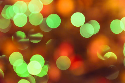 blur, blurred, lights, colorful, blurry, green, bokeh