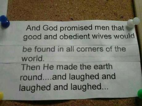 What God promised men