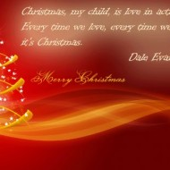 Christmas, my child, is love in action