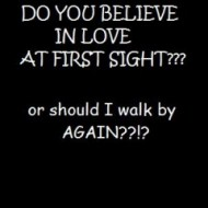 Do you believe in love at first sight essay