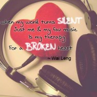 Even when my world turns silent