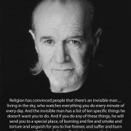 George Carlin Quote on religion