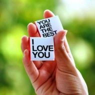 I love you - You are the best