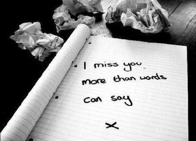 Quote Pictures I Miss You More Than Words Can Say