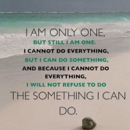 Iam only one