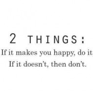 If it makes you happy do it. If it doesn't, don't do it
