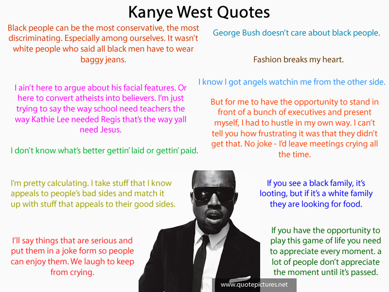 kanye west quotes from songs - photo #30