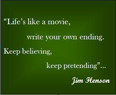 quote pictures life is like a movie you write your own ending