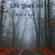 Live goes on, live it well