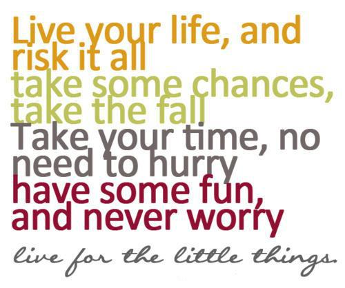 Quotes To Live Your Life By Amusing Quote Pictures Live Your Life And Risk It All