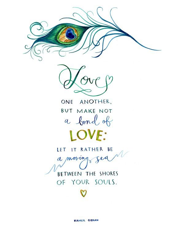 Love One Another Quotes Awesome Quote Pictures Love One Another But Make Not A Bond Of Love