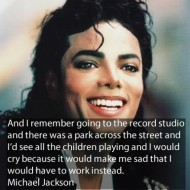 Michael Jackson Quotes - And I remember going to the record studio and there was a park