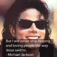 Michael Jackson Quotes - But I will never stop helping and loving people the way