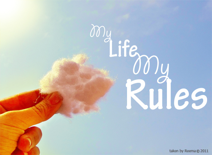 my life my rules my attitude cover photo for girls. my life rules cloud attitude cover photo for girls