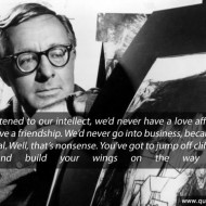 Ray Bradbury Quote - If we listened to our intellect, we'd never have a love affair