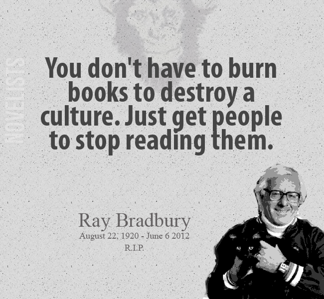 Quotes From Fahrenheit 451 Adorable Top 292 Most Inspiring Ray Bradbury Quotesquotesurf