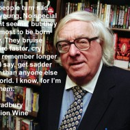 Ray Bradbury Quotes - Some people turn sad awfully young. No special reason