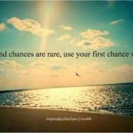 Second changes are rare, use your first change wisely