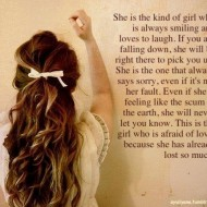 She is the kind of girl who is always smiling and loves to laugh