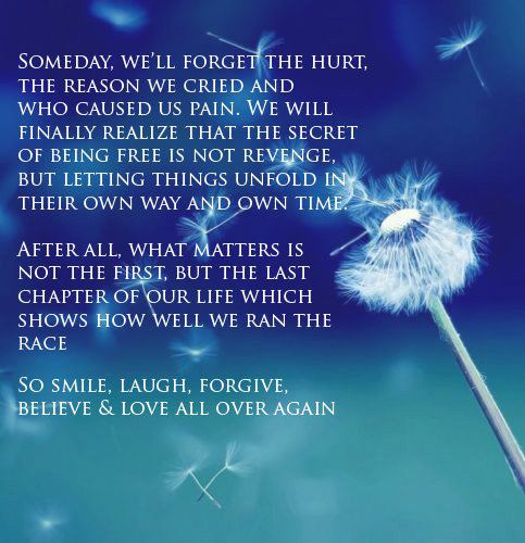Image result for quotes someday we'll forget the hurt