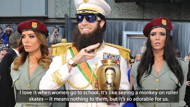 The Dictator Movie Quotes