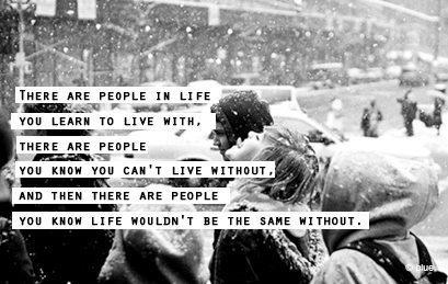 Quote Pictures There Are People In Life You Learn To Live With