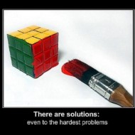 There are solutions even to the hardest problems