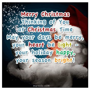 Quote Pictures Thinking of you at christmas time