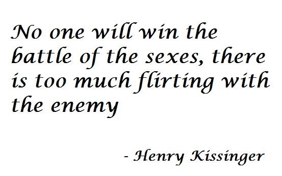Battle between sexes