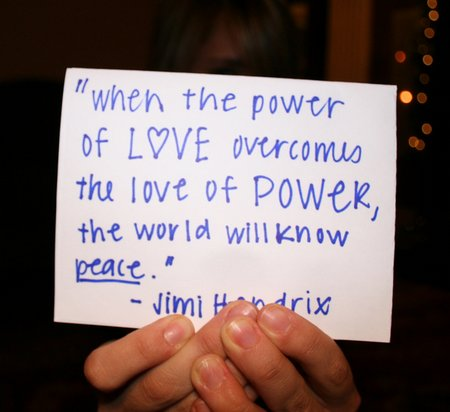 Quote Pictures When The Power Of Love Overcomes The Love Of Power