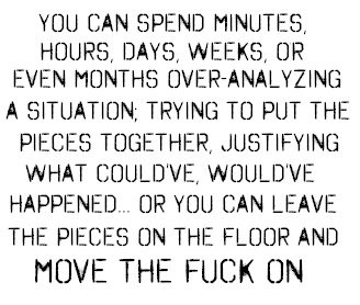 just move on
