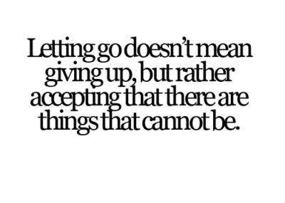 Quotes About Giving Up Interesting Quote Pictures Letting Go Doesn't Mean Giving Up