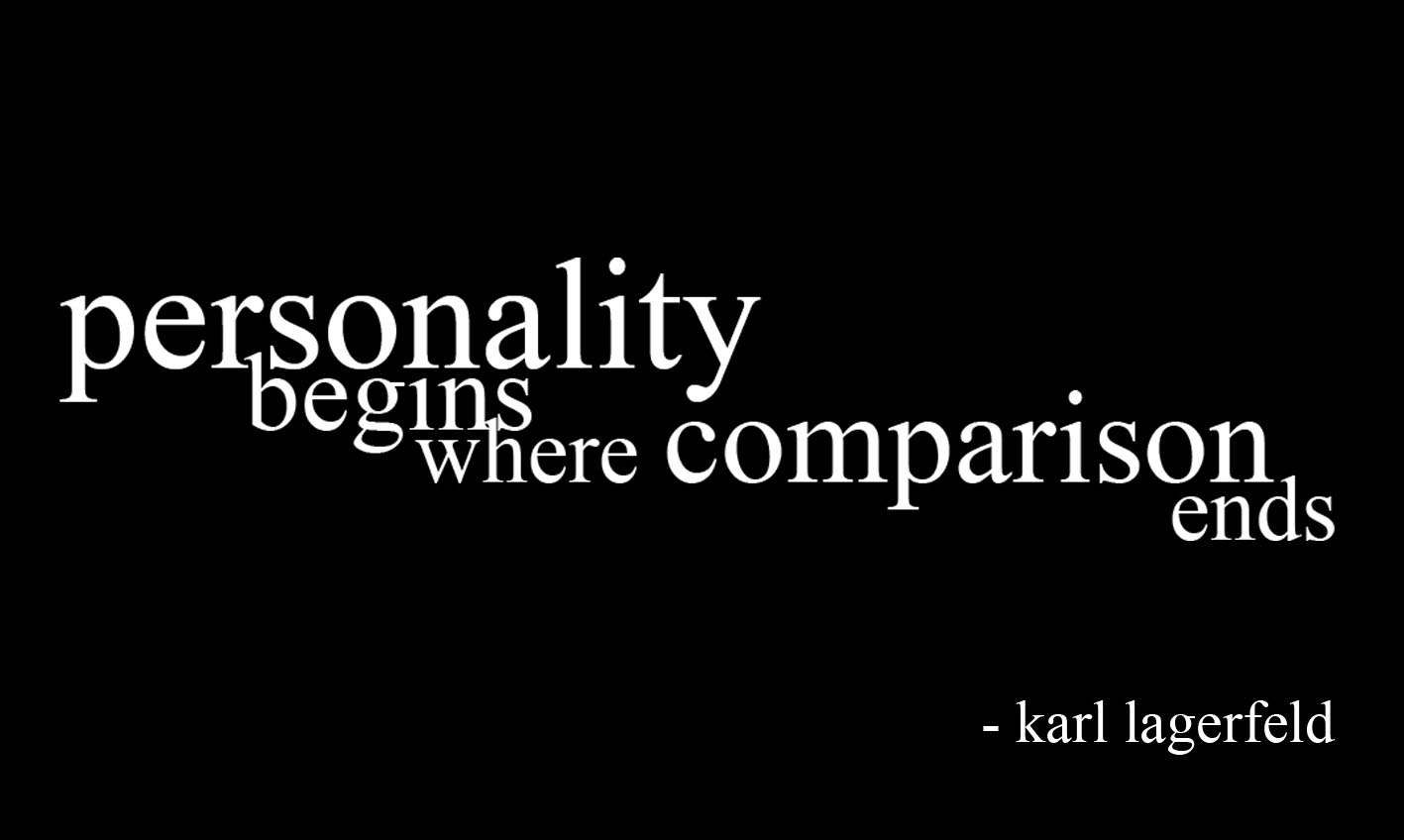 personality-begins-where-comparison-ends