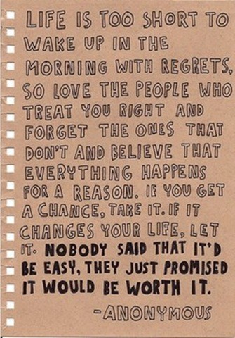 Quote Pictures Life Is Too Short To Wake Up In The Morning With Regrets