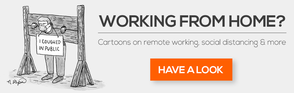 Working From Home Cartoons
