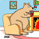 Doug Bentley Gag Cartoon Cartoon Example