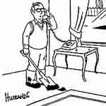 James Husbands Gag Cartoon Cartoon Example