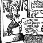 Jonathan Brown Editorial/Newspaper Cartoon Example