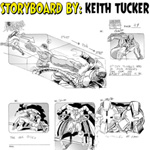 Keith Tucker Storyboards Cartoon Example