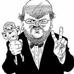 Kjell Nilsson-Maki Caricature Cartoon Example