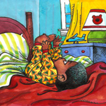 Larry Johnson Children's Illustration Cartoon Example