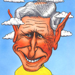 Lewis Peake Caricature Cartoon Example